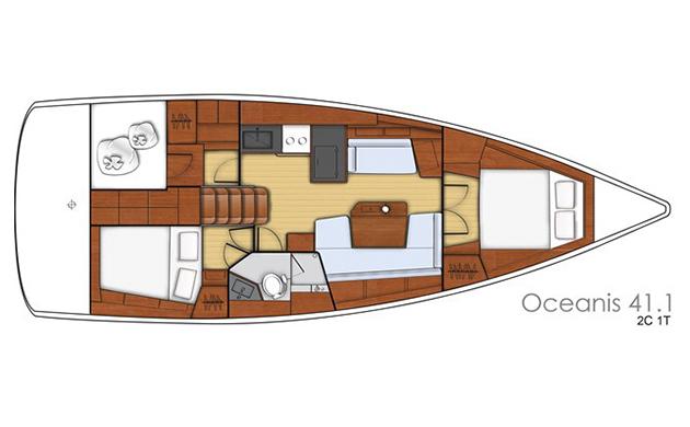Oceanis 41.1