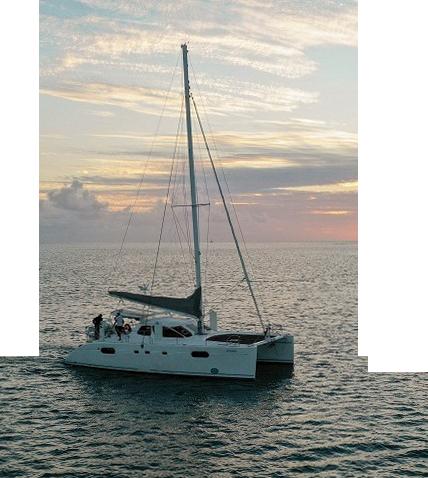 1Private Charter Catamaran - Home
